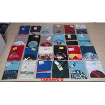 Kit 25 Camisetas Original Quiksilver Hurley Billabong Oakley