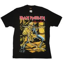 Camiseta De Banda - Iron Maiden - Piece Of Mind