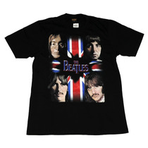 Camiseta De Banda - The Beatles (bandeira)