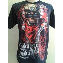 Camiseta Chicano Lowrider King Bone