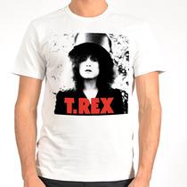 Camiseta Rock - T Rex, David Bowie, Ramones, Lou Reed