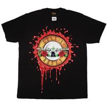 Camiseta De Banda - Guns N Roses - Logo