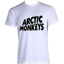 Camisetas Masculinas Arctic Monkeys - 100% Poliester