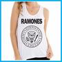 Regata Feminina Ramones, Rock, Banda, Música, Fashion, Pers