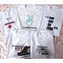 Camisetas K-pop Da Banda Bts