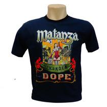 Camiseta Matanza Bandas De Rock Personalizada