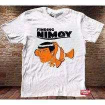 Camiseta Masculina Procurando Nemo Nimoy Star Trek Spock Tv