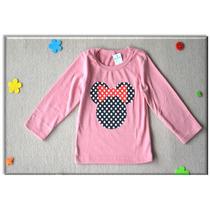 Siticas Camiseta Moleton Infantil Minnie