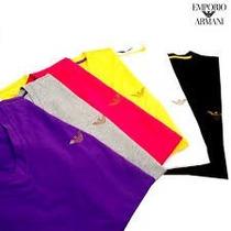 Camiseta Empório Armani - Gola V E Careca- Underwear..