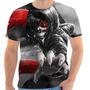 Camiseta Camisa Masculina Otaku Anime- Tokyo Ghoul 11