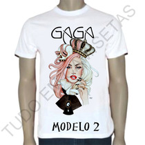 Camiseta Lady Gaga,banda Rock