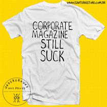 Camiseta Kurt Cobain´s Corporate Magazine Still Suck