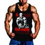 Camiseta Divertida Musculação Madruga Fitness Regata