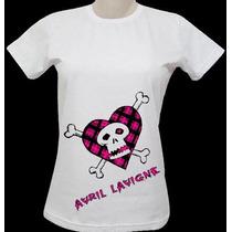 Camisa Avril Lavigne ( Vários Modelos )