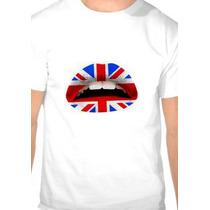 Camiseta Boca Bandeira Da Inglaterra Modelo Básico