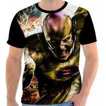 Camisa Camiseta Flash Reverso - 01