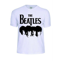 Camisas Camisetas The Beatles Banda Rock Baby Look Rock Pop
