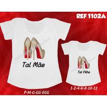 Shoes T-shirts Sapatos Tal Mãe Tal Filha Louboutin