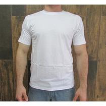 Camiseta Tamanho Grande Algodão Lisa Fio 30/1 Penteada