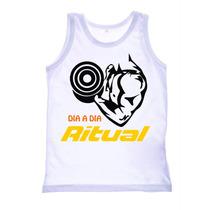 Camisa Camiseta Regata Musculação Academia Bodybuilding Trei