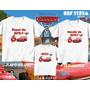 Kit Camisetas Personalizadas Aniversário Carros/ Macqueen