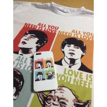 Camiseta Beatles Yoda - All You Need Is Love
