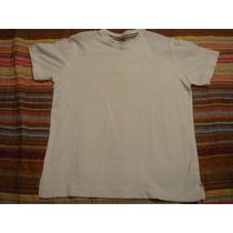 Zara Kids Blusa Branca Camiseta Basica Tam. 8 Anos