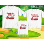 Kit Camisetas Carros Macqueen, Aniversario Festa Kit Com 3