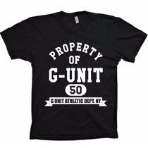 Camiseta Hiphop Rap - 50 Cent Property Of G-unit - Algodão!!