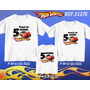 Kit Camisetas Personalizadas Tema De Aniversário Hotwheels