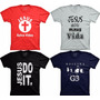 Camiseta Gospel Oficina G3 Jesus Salva Evangélica Religiosa