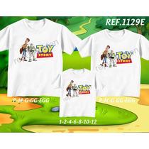Kit Camisetas Personalizadas Tema De Aniversário Toy Story