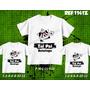 Camisetas Botafogo Tal Pai Tal Filhos Dois Filhos Kit 3