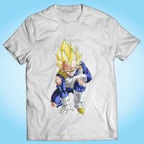 Camisa Vegeta - Dragon Ball - Desenho - Anime - Otaku - Tv