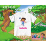 Camiseta Infantil Dora Aventureira- Diego Go/ Botas/ Raposo