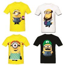 Camisetas Personalizadas,minions,meu Malvado Favorito