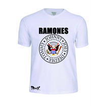 Camisas Camisetas Ramones Banda Baby Look Rock Conjunto Pop