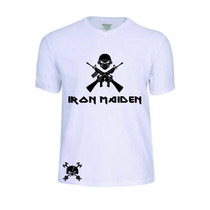 Camisas Camisetas Iron Maiden Banda Baby Look Rock Pop