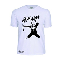 Camisas Camisetas Lady Gaga Cantor Banda Baby Look Rock Roll