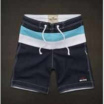 Shorts Bermuda Hollister Masculina Pronta Entrega