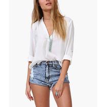 Blusas Camisas Manga Longa Pronta Entrega