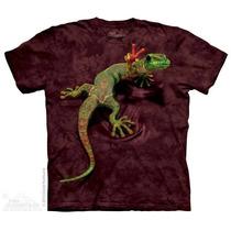 Camiseta Peace Out Gecko - The Mountain