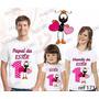 Kit Camisetas Personalizada Aniversario Smilinguido Gospel