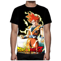 Camisa Camiseta Kakarott Dragon Ball Z - Tv Serie