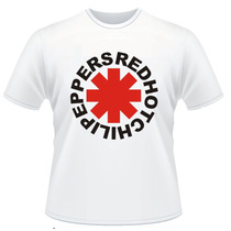 Camisetas Red Hot Chili Peppers Bandas De Rock Charlie Brown