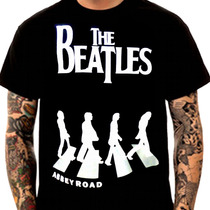 Camiseta Rock The Beatles - Galeria Da Estampa