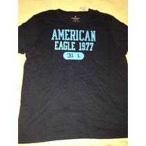 Camiseta Básica American Eagle: Tamanho Gg Xl Nova Original