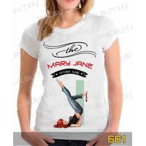 Baby Look Mary Jane Camisa Games Herois Desenhos Series