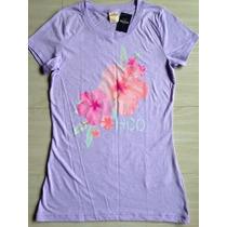 Camiseta Hollister Nova, Tam P, Manga Curta, Feminina
