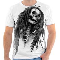 Camiseta Camisa Blusa Personalizada Bob Marley Reggae